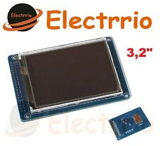 EL0437 Pantalla 3.2 TFT LCD modulo Display touch panel SD card 240x320 Arduino