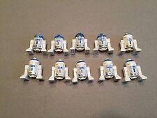 LEGO Star Wars Astromech Droid Lot of 10 minifig  R2-D2 minifigures O375