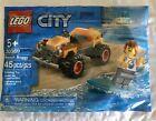 Lego 30369 City Beach Buggy Polybag Easter Basket Set Surfer Car New Sealed