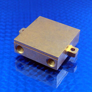 Water Cooling Block Liquid cold plate CNC machined from pure copper CPU chiller