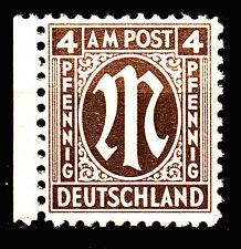 BIZONE 1945 Mi. Nr. 2 Postfrisch Seitenrand TOP!!! (13916)
