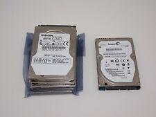 6 x 320GB SATA Toshiba Laptop 2.5 Slim 5400 RPM HDD Hard Disk Drive Job Lot