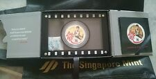 # Singapore Mint NIUE Legend of JKD Bruce Lee 75th Anniversary Silver PROOF Coin