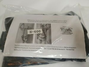 MILLENNIUM OUTDOORS FULL-BODY FALL ARREST SYSTEM WITH SRS TREE STAND HARNESS New