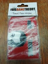 The Big Bang Theory Travel Pass Holder Sheldon Cooper Face New In Package