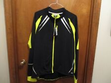 Men's Cycling Jacket Bike Fleece Thermal Bicycle Riding LS Jersey 2XL NWT