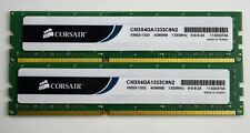8 GB 2x4GB DDR3 PC3-10600U 1333MHZ  NON ECC UNBUFFERED 240 PIN PC RAM WARRANTY