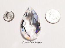 50mm Swarovski Strass Clear Teardrop Crystal Prisms Wholesale Feng Shui Cci