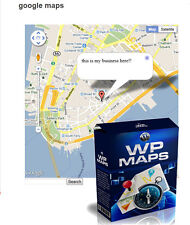 WP Maps-Google Maps plugin para WordPress-incluyendo Master reseller licencia