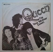 "Queen Tie Your Mother Down single 7"" Alemania original 1976 portada exclusiva"