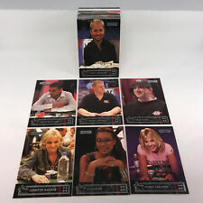 RAZOR POKER 1st EVER TRADING CARD SET (2006) All 76 Cards w/ PHIL HULMUTH WSOP