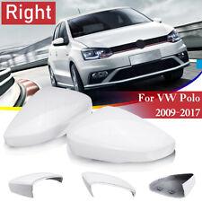 6R RIGHT VOLKSWAGEN VW POLO 2010-2017 DOOR WING MIRROR COVER CAP PAIR LEFT