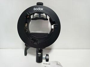UK Godox S2 Bowens Mount Flash S-type Holder Bracket for Godox V1 V860II AD200
