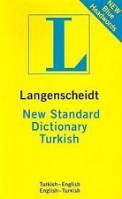 Langenscheidt Compact Dictionaries: New Standard Turkish Dictionary