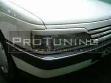 Para Peugeot 405 Cubiertas Faro Delantero Adornos Cejas Fibra Carcasa Del Piloto