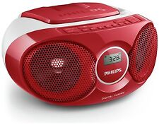 Philips AZ215R/05 Boombox - Red