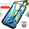 For Huawei P30 P20 Pro Mate 20 Lite 360° Magnetic Protector Tempered Glass Cover