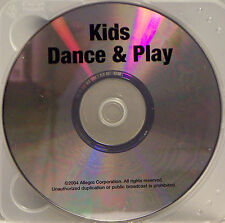 Sing-Along Fun: Kids Dance and Play (CD, 2004, Allegro) 10 Songs, 40 minutes