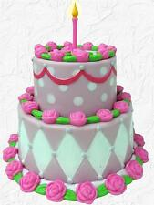 Doll Food Tiered Cake for Birthday Celebrations made for 18 inch American Girl