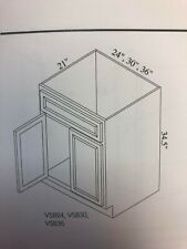 "30"" White Rta Bathroom Vanity (Cabinet Only)"