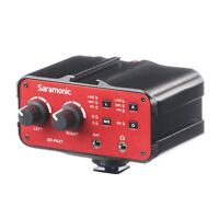 Saramonic SR-PAX1 Two-Channel Audio Mixer / Preamp / Microphone Adapter