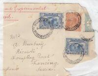 Australia KGV 1931 3d Kingsford Smith x 2 5d Head On Piece Boulder CDS J211