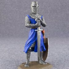 Toy Tin Soldier Knights Medieval figure 1/32 scale miniature 54mm Metal Figure