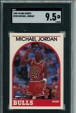 1989-90 NBA Hoops MICHAEL JORDAN #200 SGC 9.5 MINT+ Chicago Bulls GOAT HOF