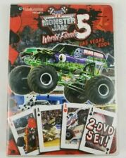 Monster Jam 5 World Finals Las Vegas 2004 DVD 2 Disc Set RARE Monster Trucks