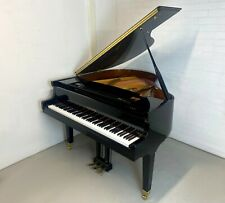 More details for steinbach baby grand piano black high gloss - warranty - delivery - pianoz