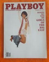 PLAYBOY MEN MAGAZINE OCTOBER 1992 TIFFANY SLOAN TIM ROBBINS SISTA SOULJAH