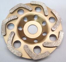 Profi Diamant Schleiftopf Ø 125mm Schleifteller,Topfscheibe Granit,Beton,Estrich