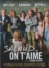 Salaud on t'aime : avec Johnny Hallyday, Eddy Mitchell, Sandrine Bonnaire (DVD)