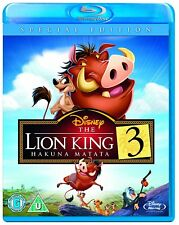 THE LION KING 3 = HAKUNA MATATA = DISNEY BLU RAY = BRAND NEW BUT NOT SEALED