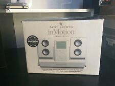 Altec Lansing inMotion Portable Audio Speakers 1st Gen For iPod Touch iPhone 4