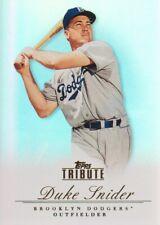 2012 Topps Tribute Baseball #17 Duke Snider Brooklyn Dodgers