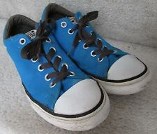Converse All Star Low Sneakers Electric Blue Junior Size 5 #640574F