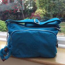 Kipling Reth Shoulder Bag with Adjustable Strap, Polaris Blue colour