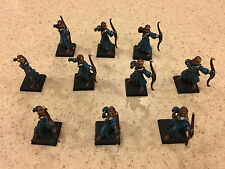 Warhammer Age of Sigmar High Elves Archers x10 painted 6/10 great condition B