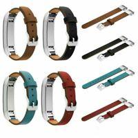Leather Belt Wristband Band Strap Bracelet For Fitbit Alta HR Smart Tracker HYA