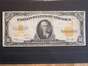 10 Dollars 1922 USA. Selten !