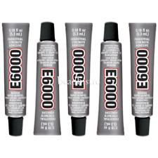 E6000 Glue .18 fl oz Mini Tubes Industrial Strength Adhesive (5 PACK)