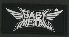 "BABYMETAL BAND EMBROIDERED PATCH - 4.25""x2"" - Kawaii Metal J-Pop J-Rock"