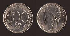 100 LIRE 1999 TURRITA - ITALIA FDC/UNC FIOR DI CONIO