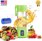 Portable Blender Juicer Fruits Smoothies Mixer Chopper Outdoor Travel Cup 380 ml