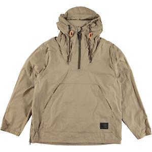 Filson Lightweight Waxed Anorak Jacket Grey Khaki