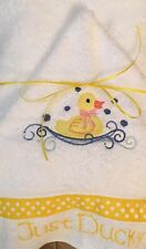 Baby and Children Hooded Bath Towels - embroidered and personalized- NB-3 & 4+