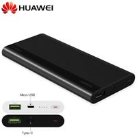 Huawei Power Bank 10000mAh Fast Portable Charger Quick Charge USB-C Battery Pack