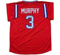 Dale Murphy autographed signed jersey MLB Atlanta Braves JSA COA MVP