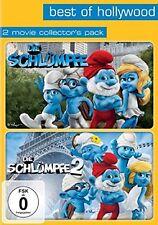 DVD * Die Schlümpfe Teil 1+2 * Die Filme * Doppelpack * NEU OVP